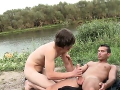 Big dick twink anal sex with facial
